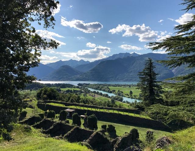 Un posto assolutamente da non perdere sul Lago di Como è il Forte di Fuentes a Colico e la sua meravigliosa vista