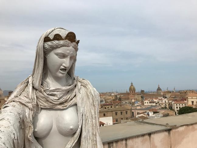Palermo dall'alto è una meraviglia da vedere quando si visita la città in un weekend